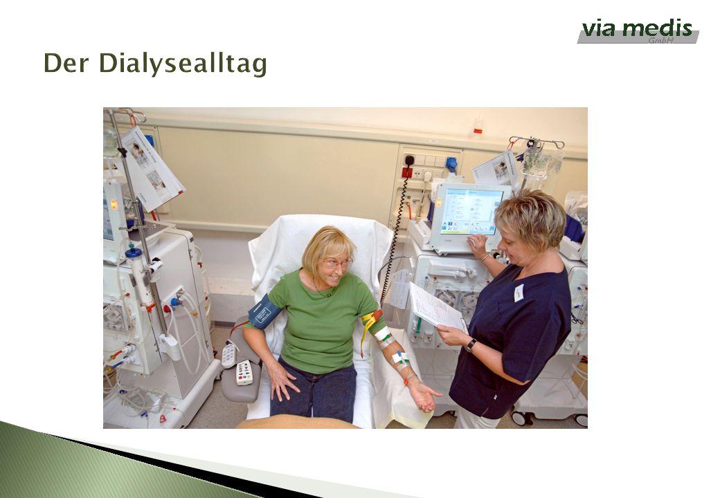 Der Dialysealltag