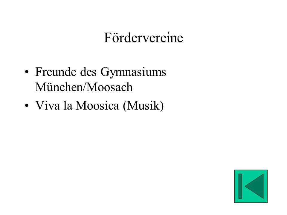 Fördervereine Freunde des Gymnasiums München/Moosach Viva la Moosica (Musik)