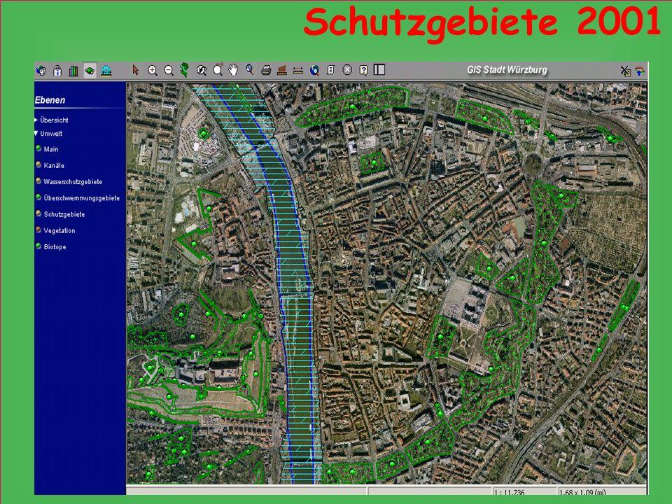 Schutzgebiete 2001