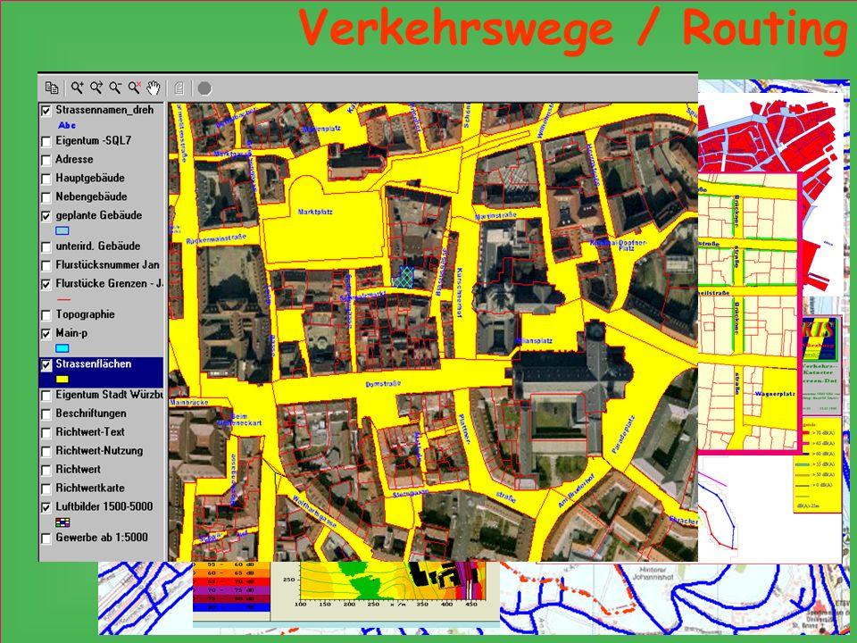 Verkehrswege / Routing