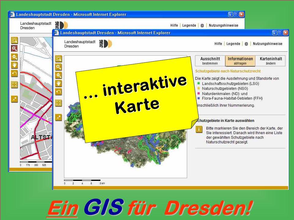 … interaktive Karte
