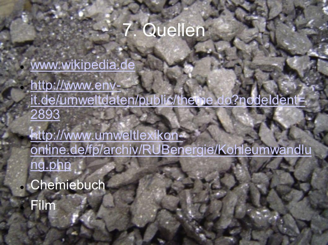 7. Quellen www.wikipedia.de http://www.env- it.de/umweltdaten/public/theme.do?nodeIdent= 2893 http://www.env- it.de/umweltdaten/public/theme.do?nodeId
