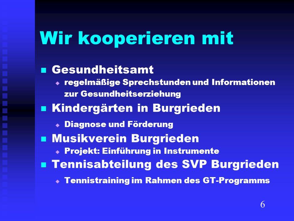 Wir kooperieren mit Gesundheitsamt regelmäßige Sprechstunden und Informationen zur Gesundheitserziehung Kindergärten in Burgrieden Diagnose und Förder