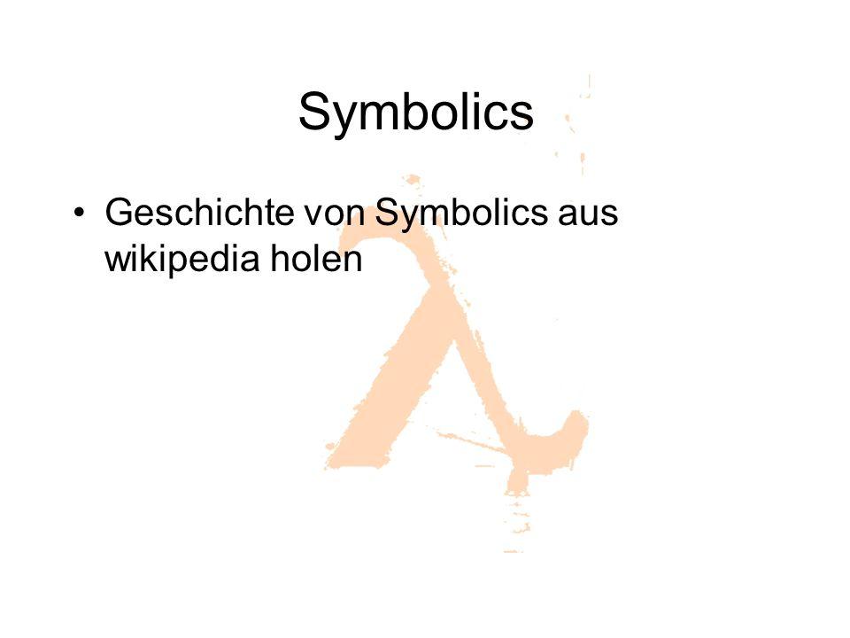 Symbolics Geschichte von Symbolics aus wikipedia holen