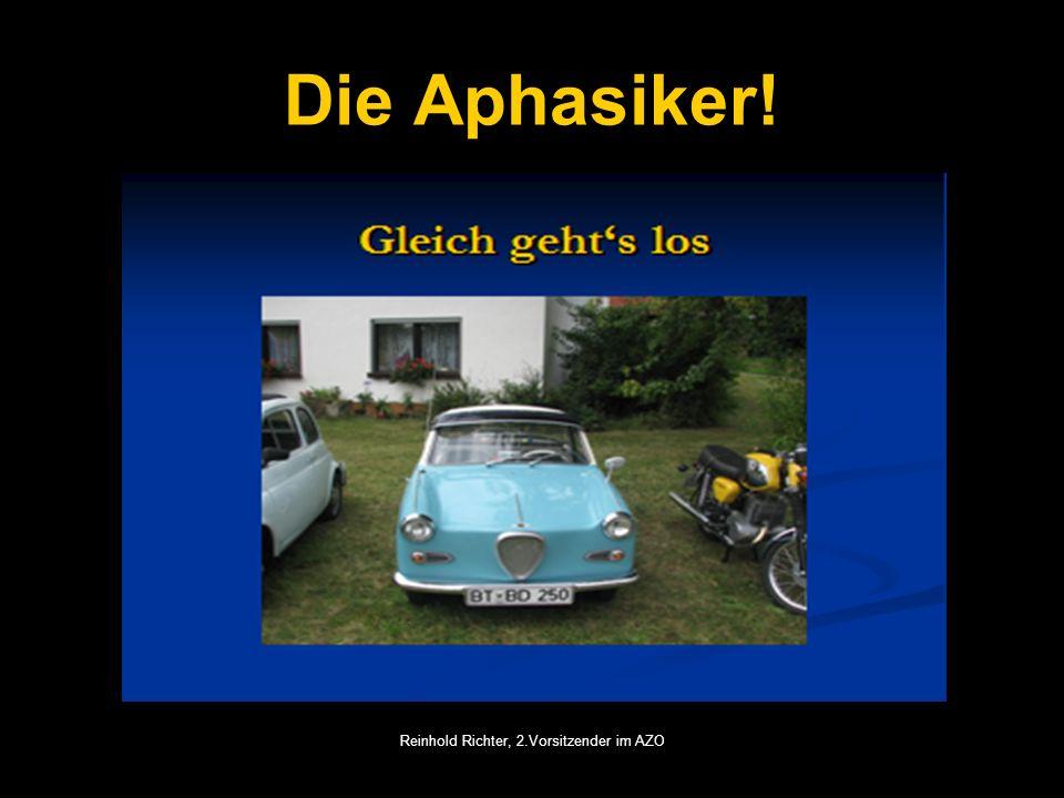 Reinhold Richter, 2.Vorsitzender im AZO Die Aphasiker!