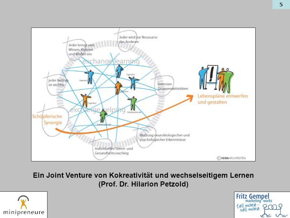 5 Ein Joint Venture von Kokreativität und wechselseitigem Lernen (Prof. Dr. Hilarion Petzold)