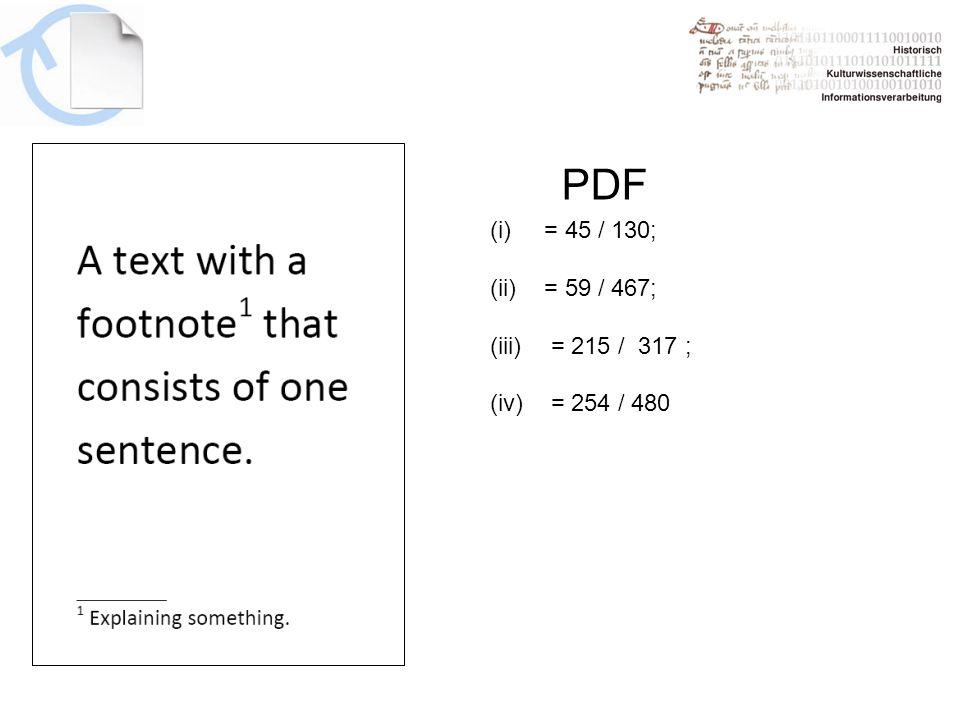 PDF (i)= 45 / 130; (ii)= 59 / 467; (iii) = 215 / 317 ; (iv) = 254 / 480