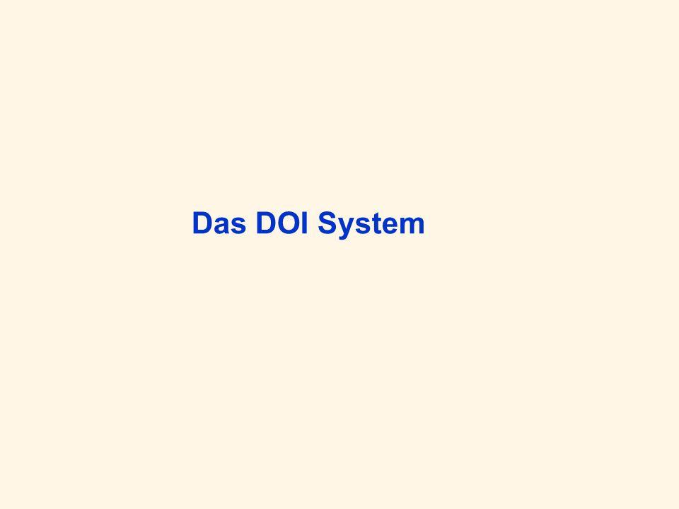 Das DOI System
