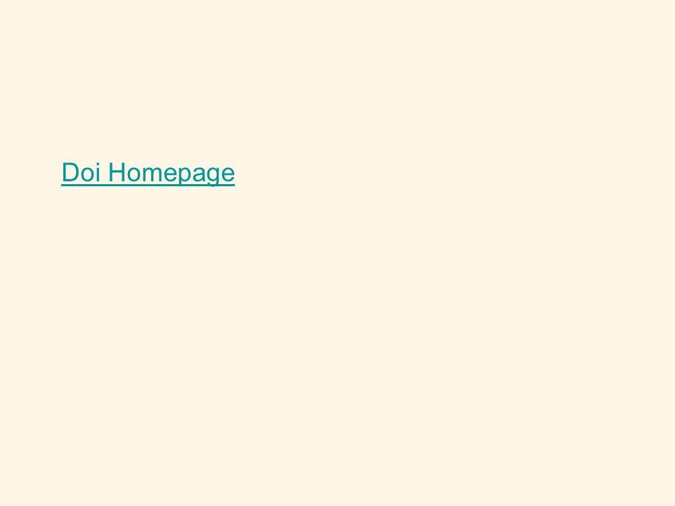 Doi Homepage