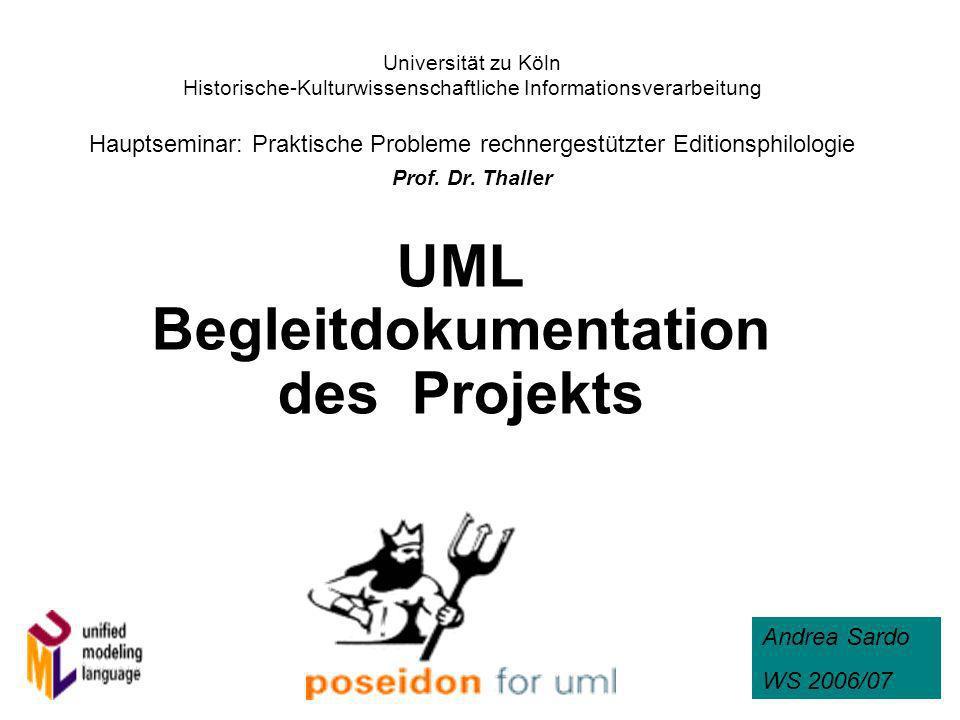 1 Universität zu Köln Historische-Kulturwissenschaftliche Informationsverarbeitung Hauptseminar: Praktische Probleme rechnergestützter Editionsphilolo