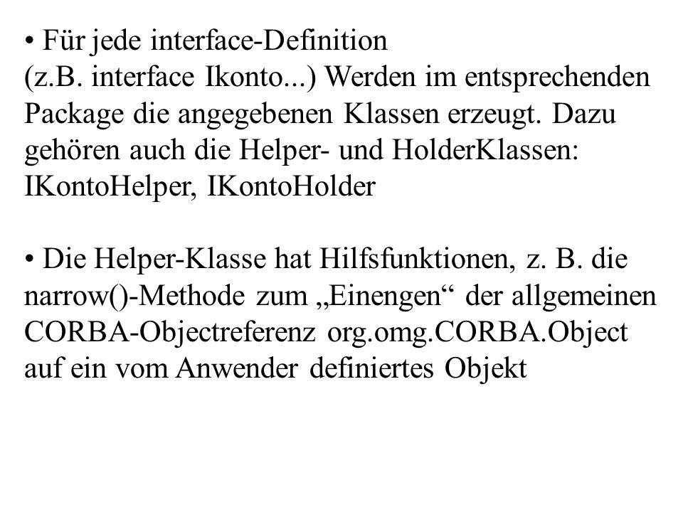 Die Holder-Klasse wird für die Übergabe von Parametern mit Rückgabe-Semantik (inout bzw.
