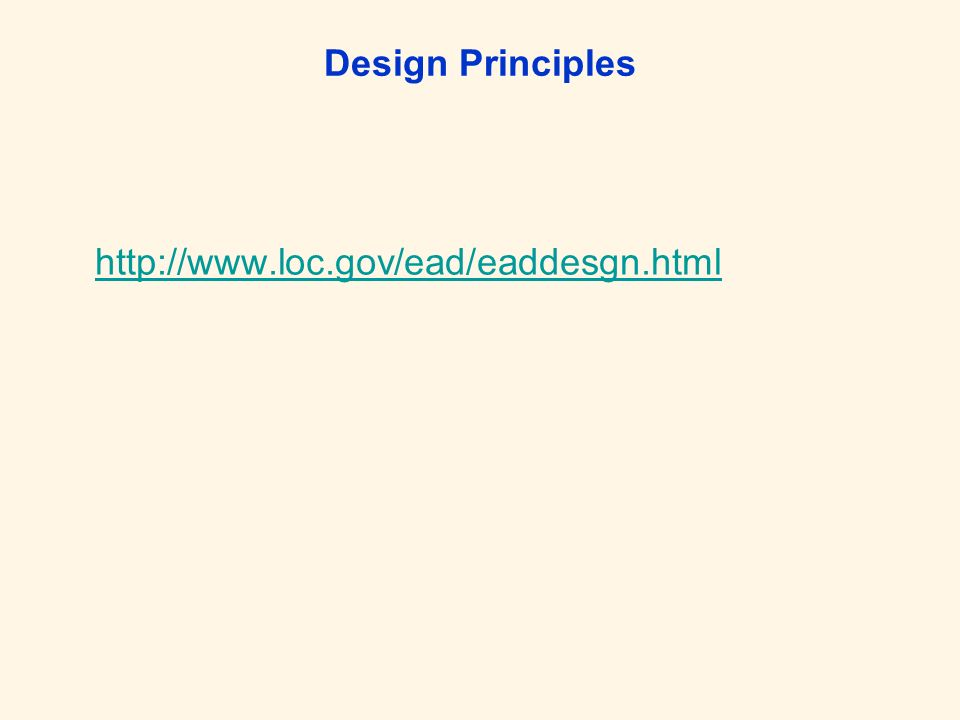 EAD Aufbau Regelwerke: –EAD-DTDEAD-DTD –Tag LibraryTag Library –Application GuidelinesApplication Guidelines EAD – TEI Grundelemente – : allgem.