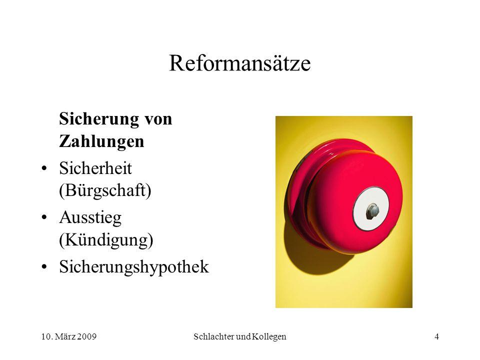Vorverlegung von Zahlungen (Durchgriffsfälligkeit) Lösung: Bruno Bau fordert Günther Ufer auf, über die Frage der Bezahlung bzw.