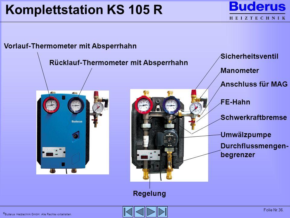 Buderus Heiztechnik GmbH. Alle Rechte vorbehalten. Folie Nr.37. FM 244 Modul FM 244 SOLAR