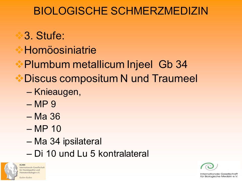 BIOLOGISCHE SCHMERZMEDIZIN 3.