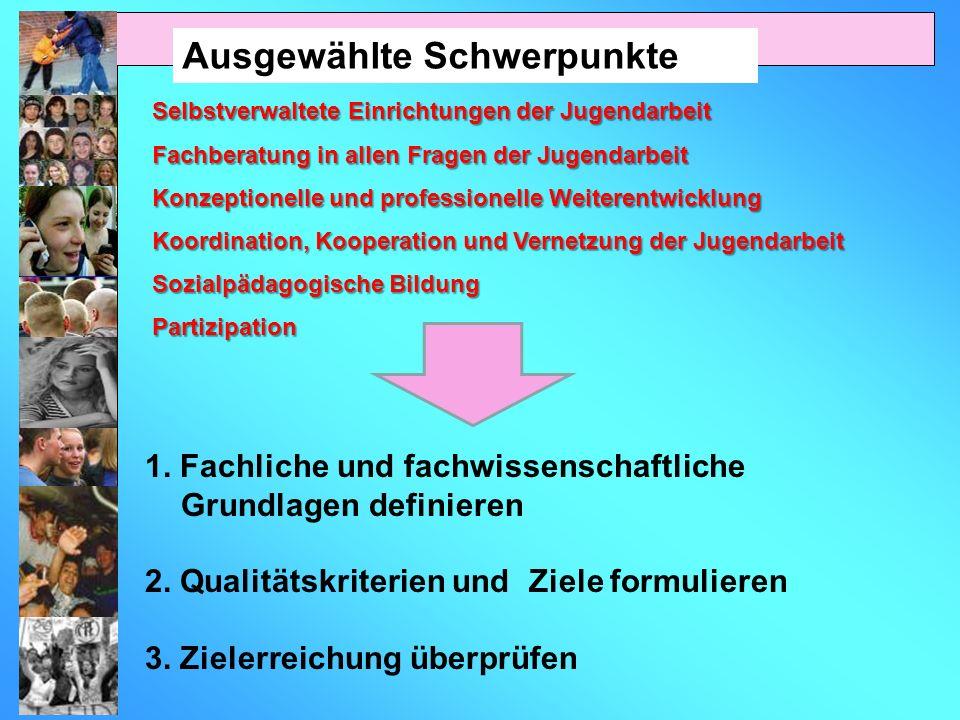 1. Fachliche und fachwissenschaftliche Grundlagen definieren 2.