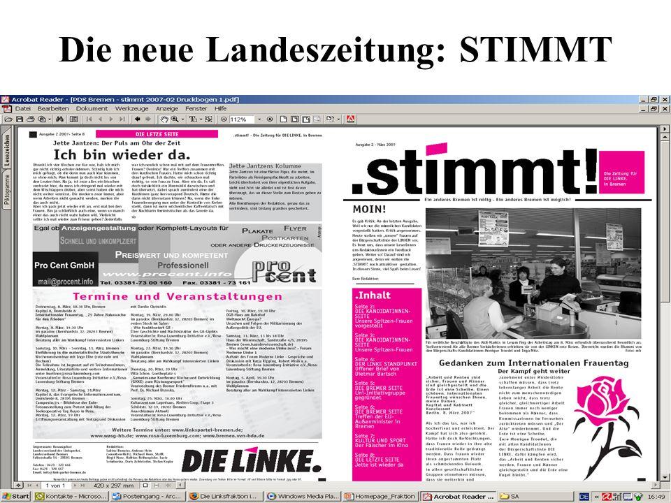 Die neue Landeszeitung: STIMMT