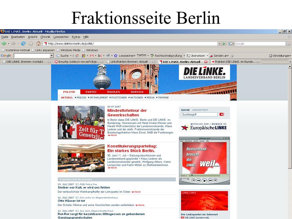 Fraktionsseite Berlin