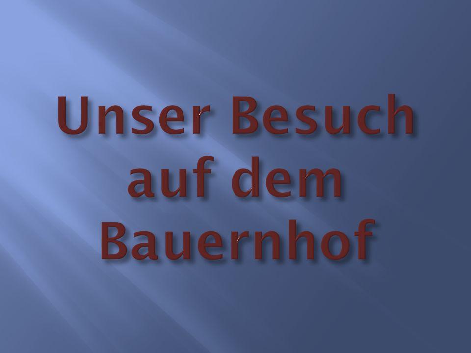 Text : Unser Besuch auf dem Bauernhof Interview Bilderbuch