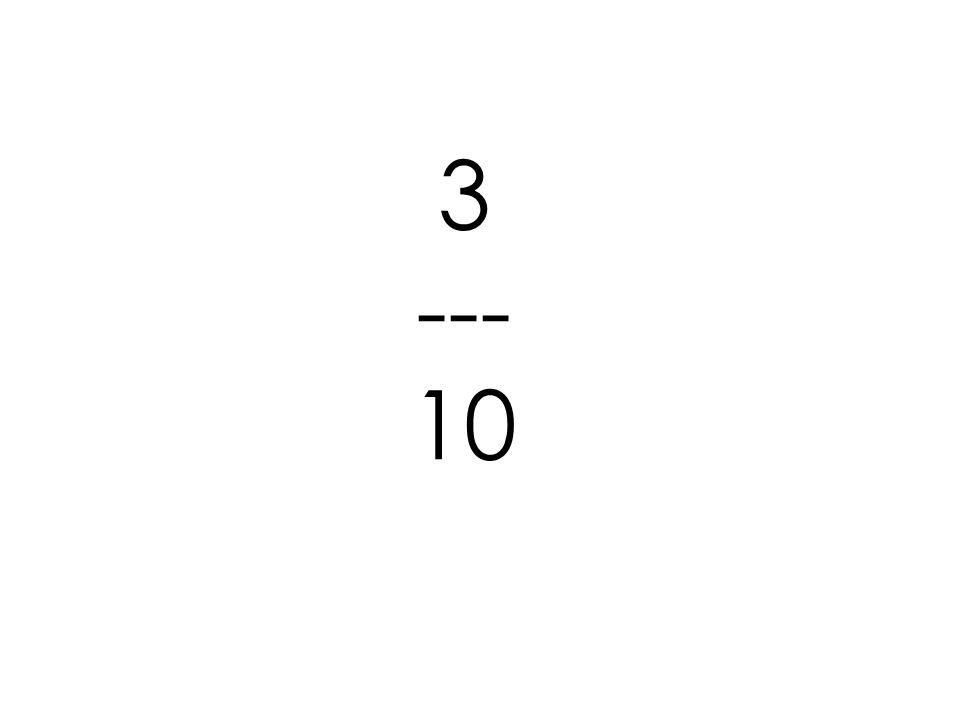 3 --- 10
