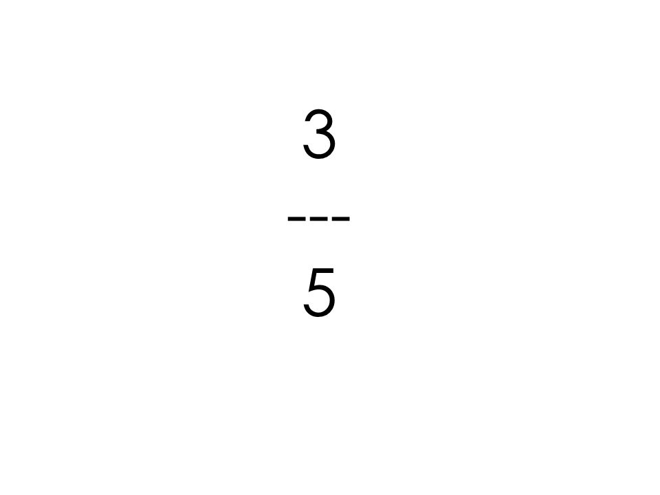 3 --- 5