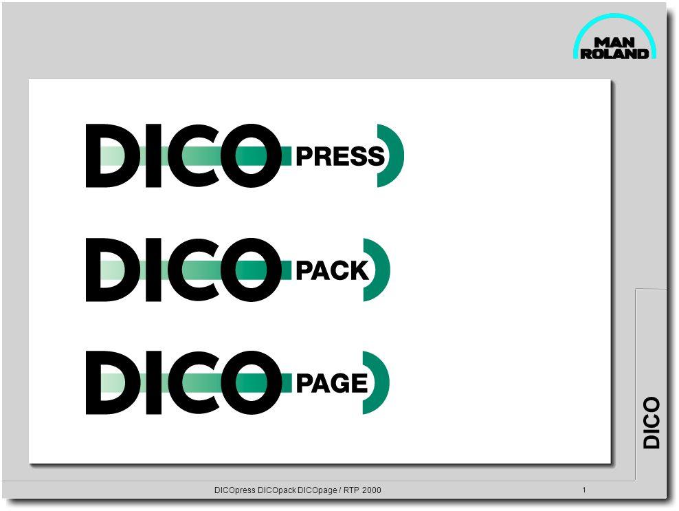 DICO DICOpress DICOpack DICOpage / RTP 2000 1