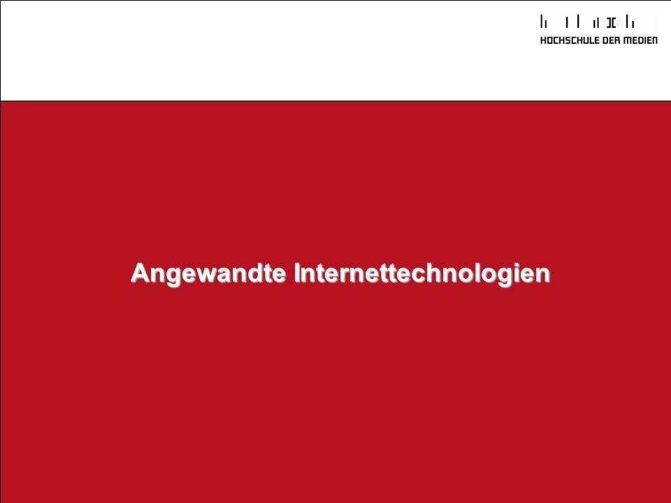 Angewandte Internettechnologien