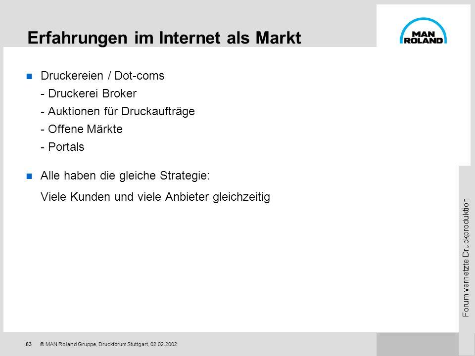 Forum vernetzte Druckproduktion 62© MAN Roland Gruppe, Druckforum Stuttgart, 02.02.2002 Optimus 2020 als Voraussetzung für Systemintegration Modernste