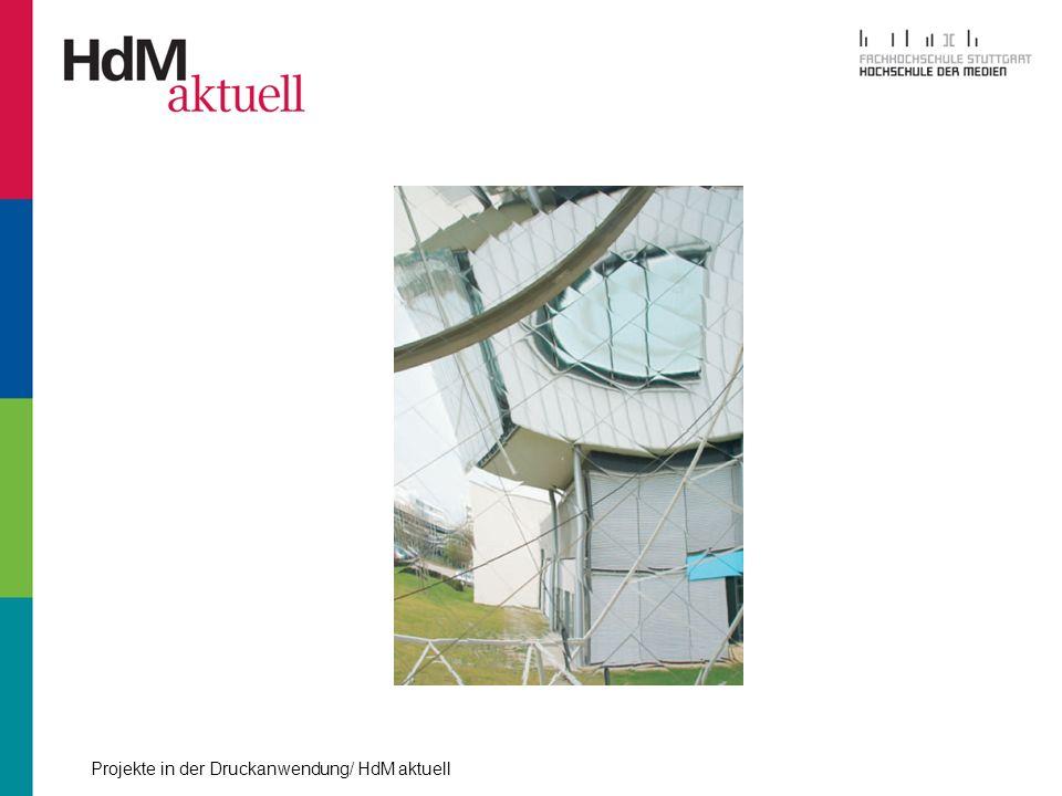 Projekte in der Druckanwendung/ HdM aktuell Produktion - Papier schneiden - Falzen - Vorsammeln (möglichst parallel zum Falzen) - Sammelheften