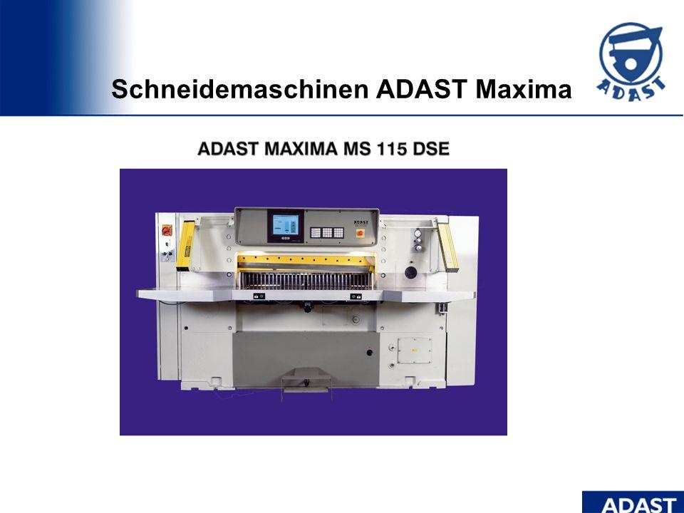 Dominant 806 Format DIN B2+ halbautomatischer Plattenwechsel Ultraschall- Doppelbogenkontrolle Registersteuerung ADAST Gummituch- Wascheinrichtung