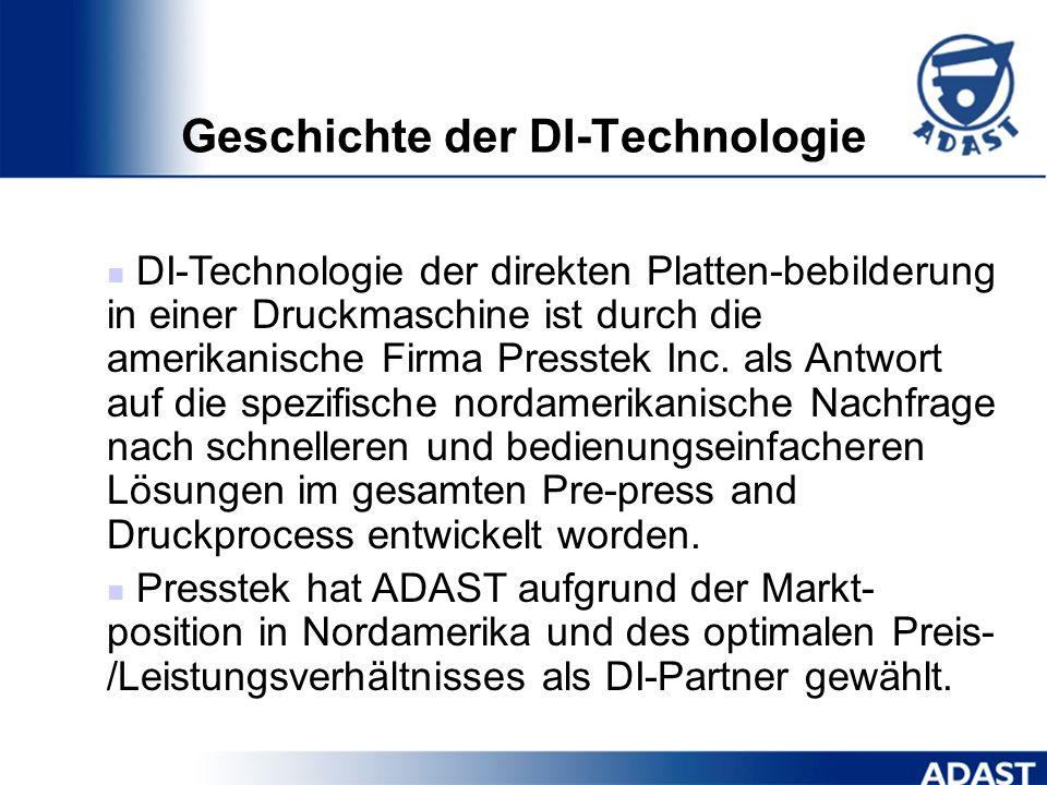 Produktportfolio Digitale Offsetdruckmaschinen ADAST 547 DI bzw. mit P ADAST 557 DI bzw. mit P Dominant 745 DI bzw. mit P Dominant 755 DI bzw. mit P D