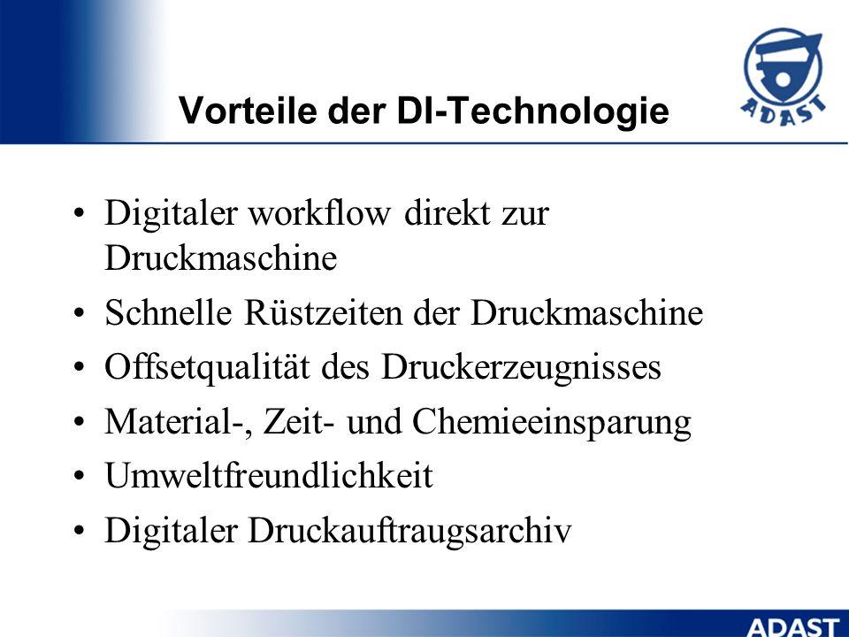 Automatischer Bebilderungszyklus vollfarbiger Preview, Plattenwechsel, Bebilderung und Reinigung automatisch Auflösung - 50 dpmm (1270 dpi) und 100 dp