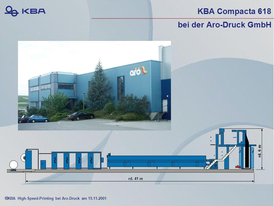 KBA High-Speed-Printing bei Aro-Druck am 15.11.2001 KBA Compacta 618 bei der Aro-Druck GmbH rd.