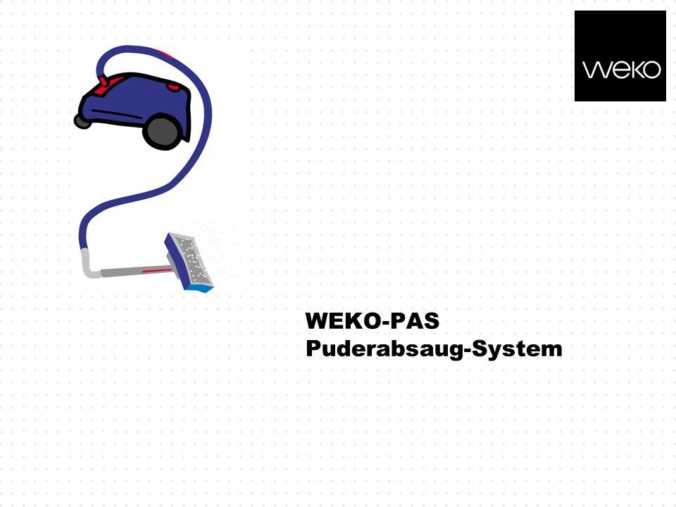 WEKO-PAS Puderabsaug-System
