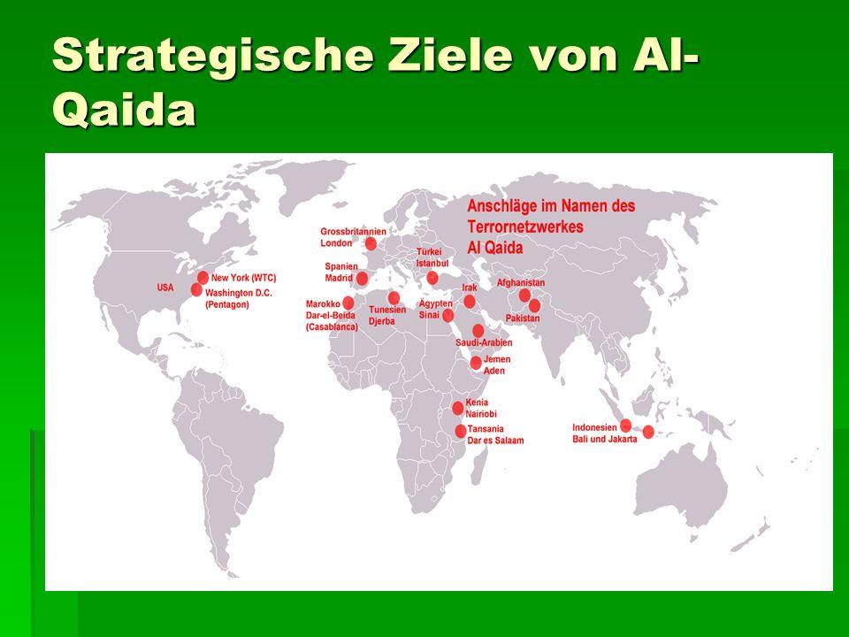 Al-Qaida heute Al-Qaida-Verdienst jährlich 330 Mio. Euro Al-Qaida-Verdienst jährlich 330 Mio. Euro Vorbereitung & Anschlag auf World Trade Center betr