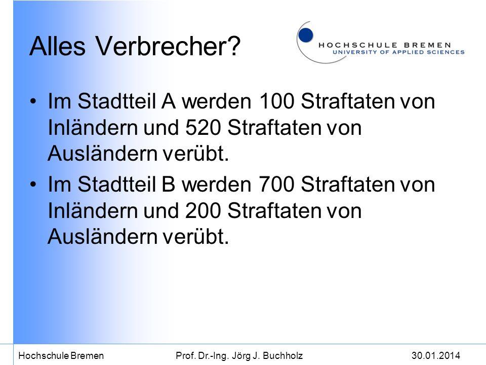 30.01.2014Hochschule BremenProf.Dr.-Ing. Jörg J.
