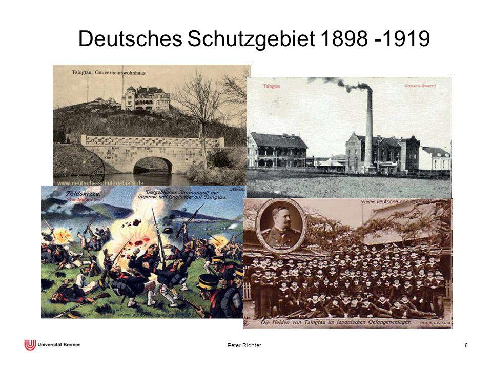 Peter Richter8 Deutsches Schutzgebiet 1898 -1919