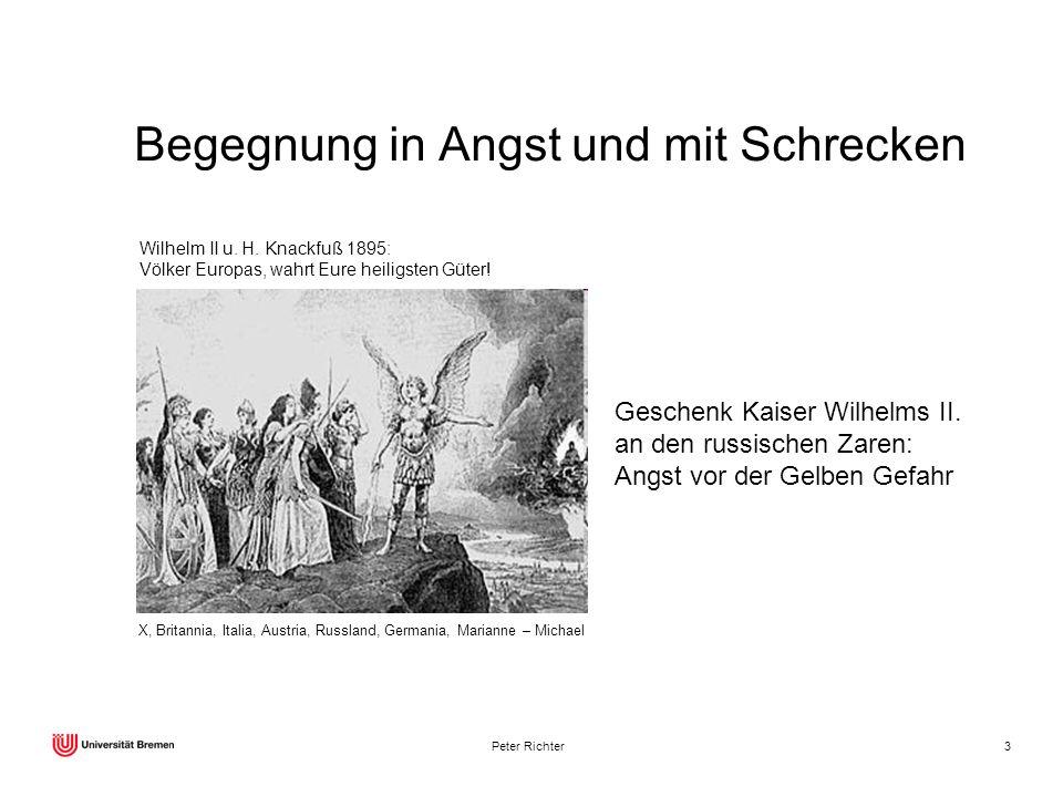 Peter Richter3 X, Britannia, Italia, Austria, Russland, Germania, Marianne – Michael Wilhelm II u. H. Knackfuß 1895: Völker Europas, wahrt Eure heilig