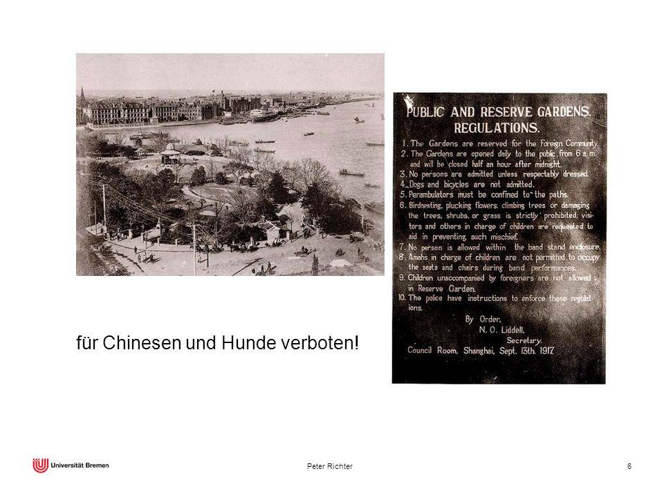 Peter Richter6 für Chinesen und Hunde verboten!