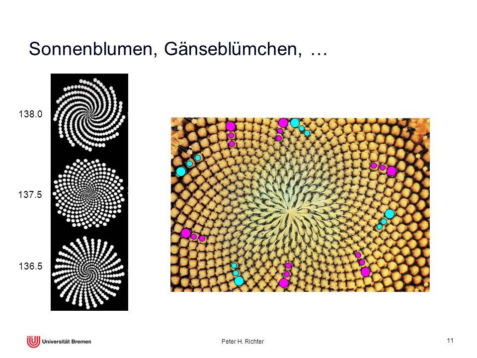 Peter H. Richter 11 Sonnenblumen, Gänseblümchen, … 138.0 137.5 136.5