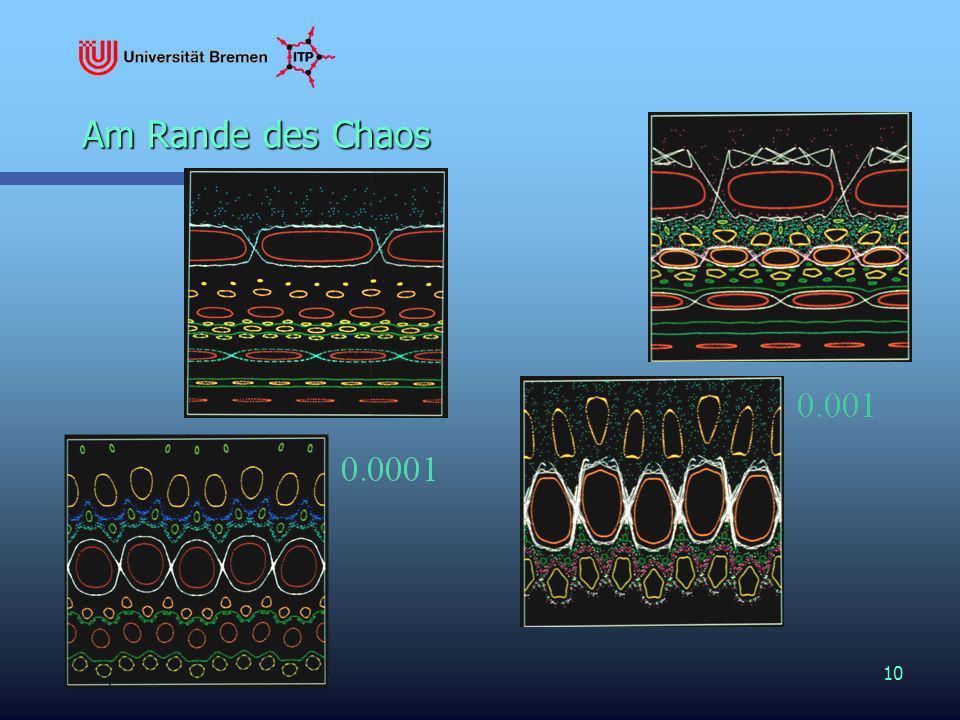 PHR at MPIPP – 15. Feb. 200210 Am Rande des Chaos