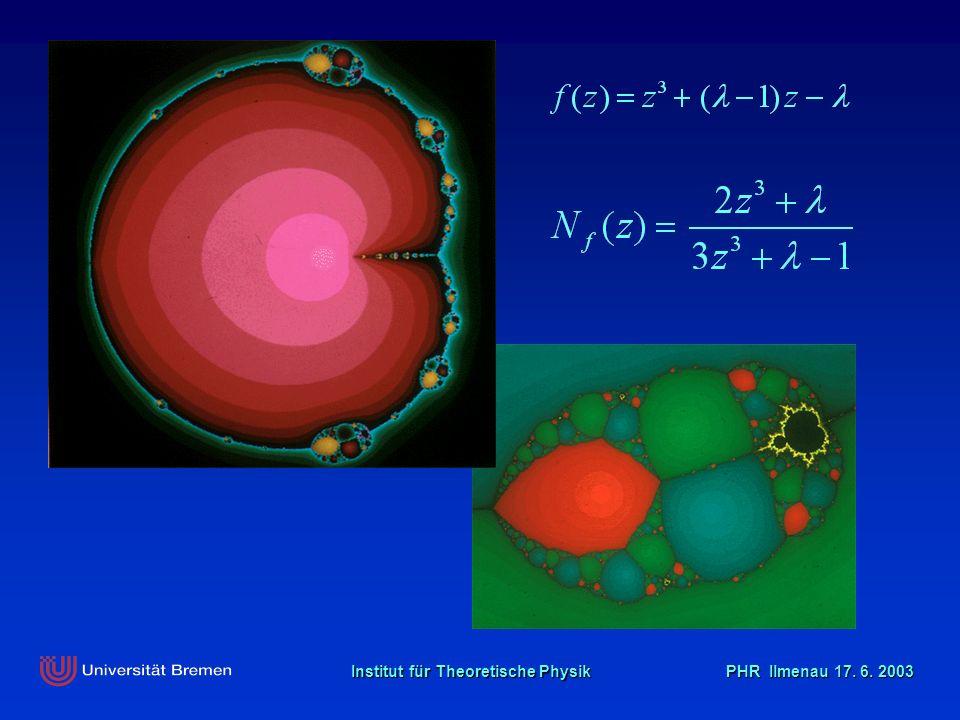 Institut für Theoretische Physik PHR Ilmenau 17. 6. 2003 Der goldene Schnitt …