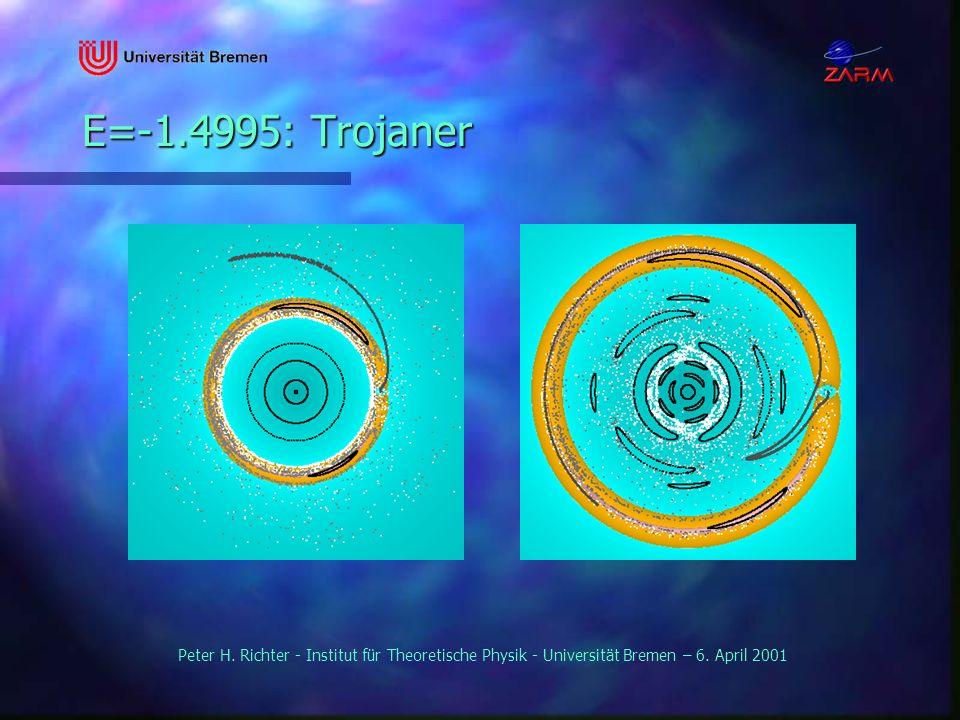 Peter H. Richter - Institut für Theoretische Physik - Universität Bremen – 6. April 2001 E=-1.4995: Trojaner