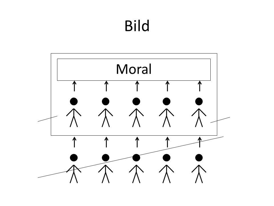 Bild Moral