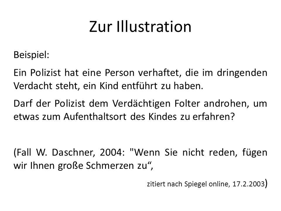 Stimmen Nicht Folter, sondern Nothilfe Wolfgang Daschner wollte den entführten Jakob von Metzler retten.