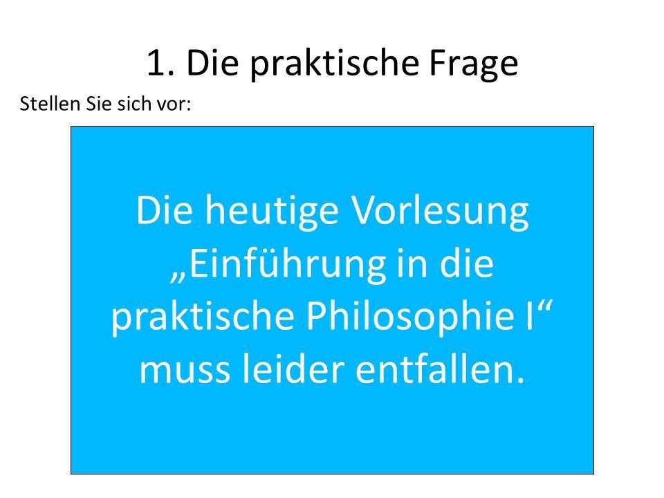 Entgegnung (2) Außerdem interessieren sich Philosophen allgemein für Begründungen.