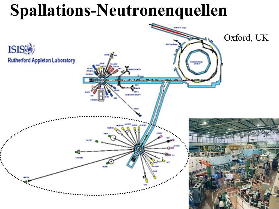 Spallations-Neutronenquellen ISIS, Oxford, UK