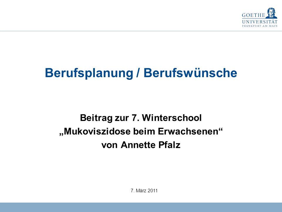 0 Berufsplanung / Berufswünsche Beitrag zur 7.