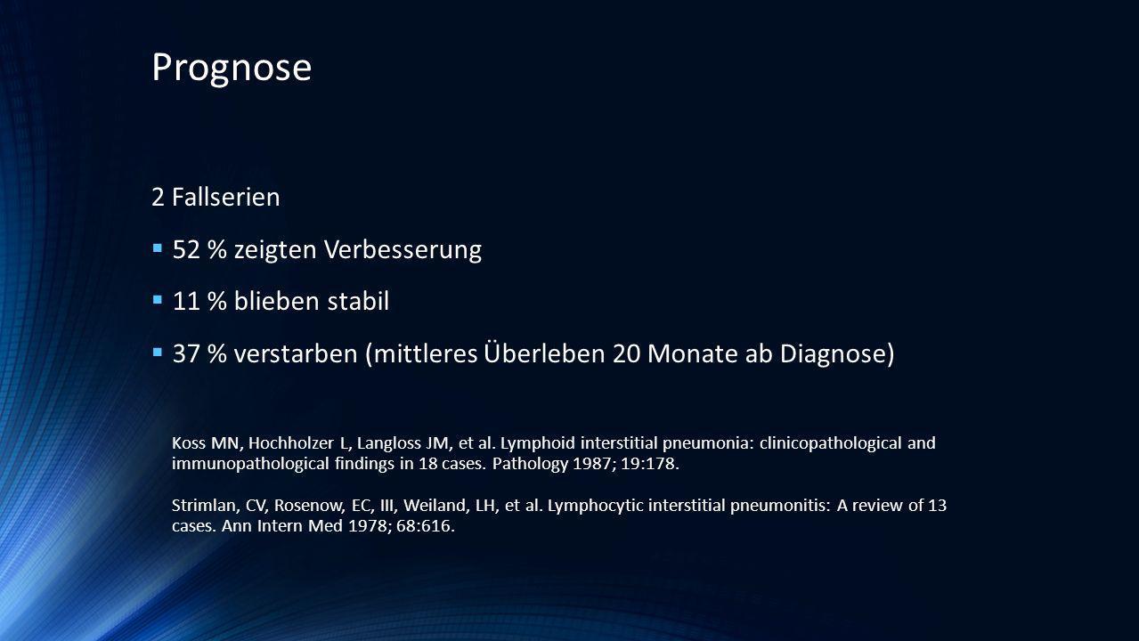 Nicht-klassifizierbare interstitielle Pneumonie
