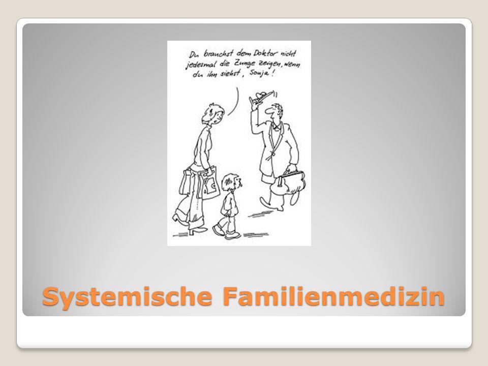 Systemische Familienmedizin Systemische Familienmedizin